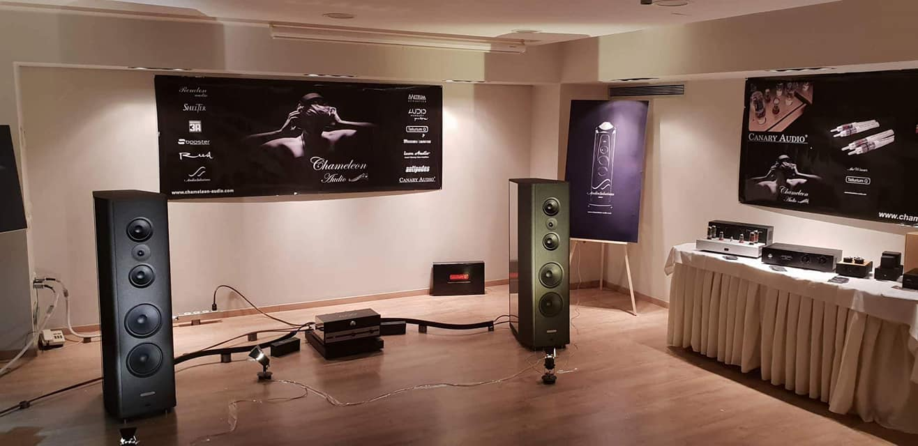 Hxos audio show in Greece