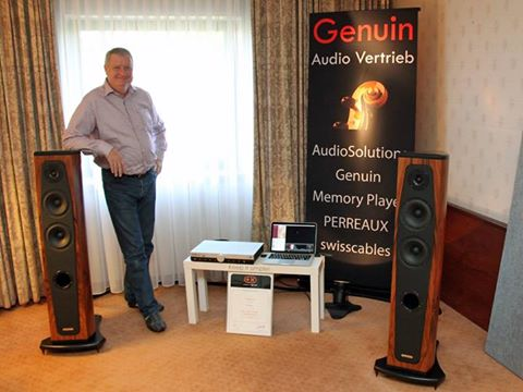Genuin audio in Bonn Hi-fi show
