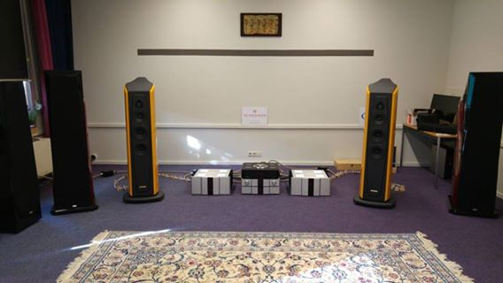Vantage X-Fi Audio show 2016 the Netherlands. Distributor in Benelux - Darius Audio.